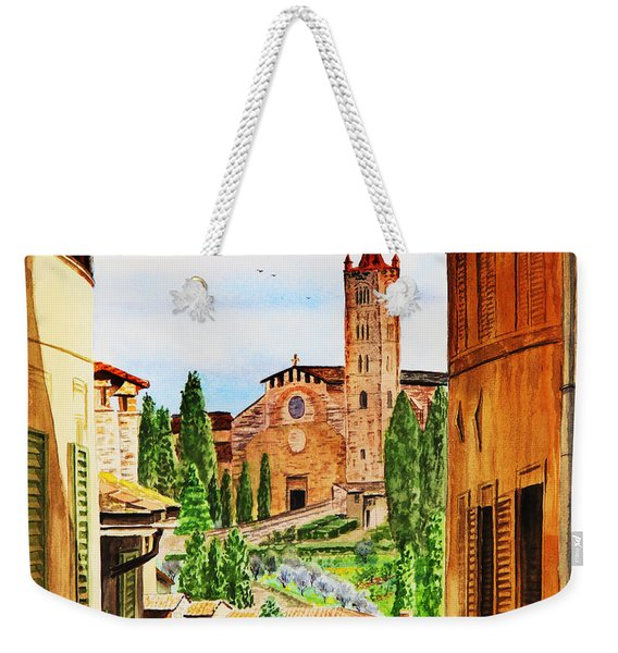 Italy Siena Weekender Tote Bag