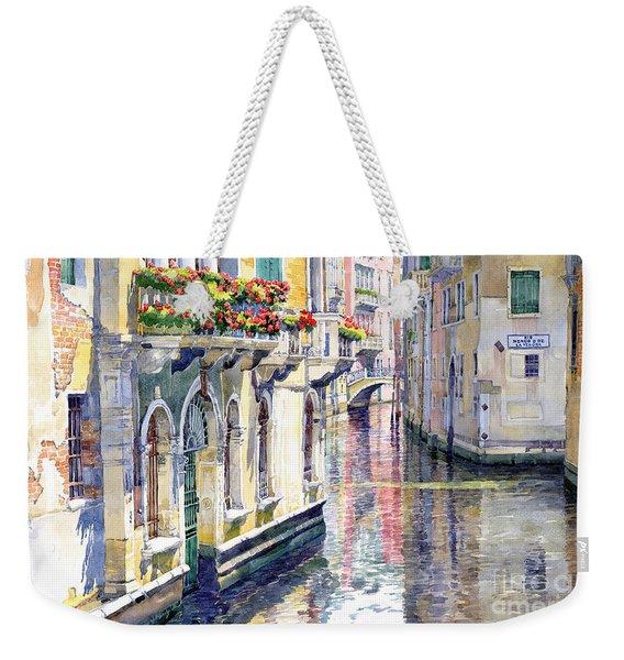 Italy Venice Midday Weekender Tote Bag