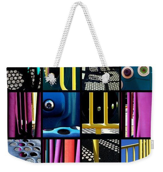 Its A Jungle Gym Out There Weekender Tote Bag
