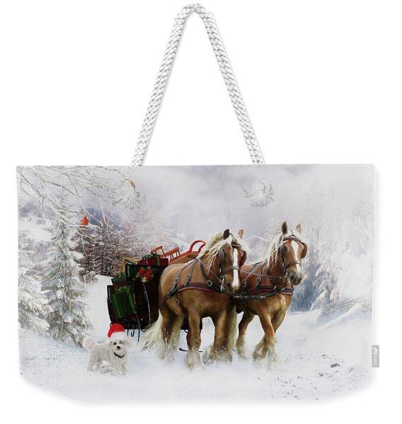 A Christmas Wish Weekender Tote Bag