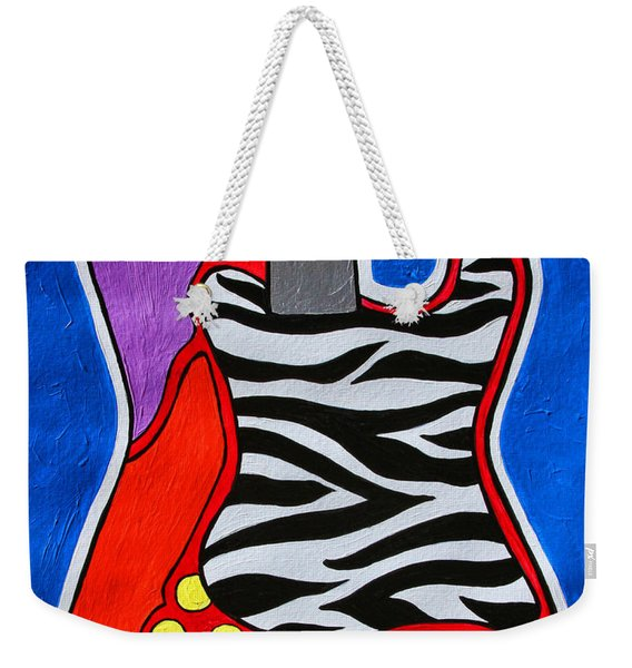 It's Electric Acrylic By Diana Sainz Weekender Tote Bag