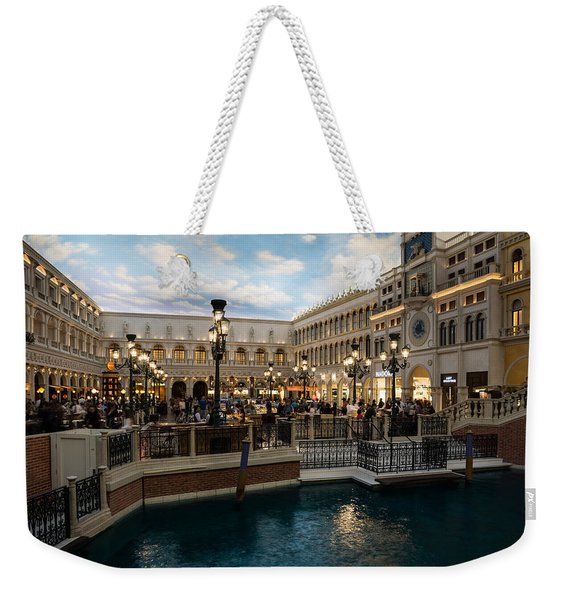 It's Not Venice Weekender Tote Bag