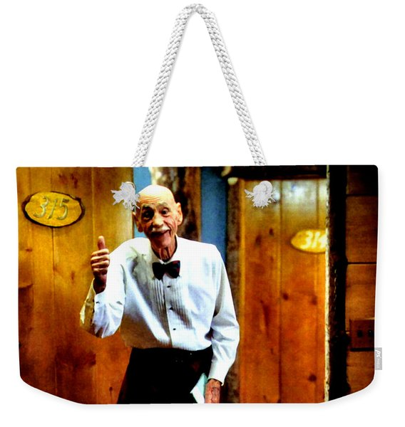 I've Heard About You Weekender Tote Bag