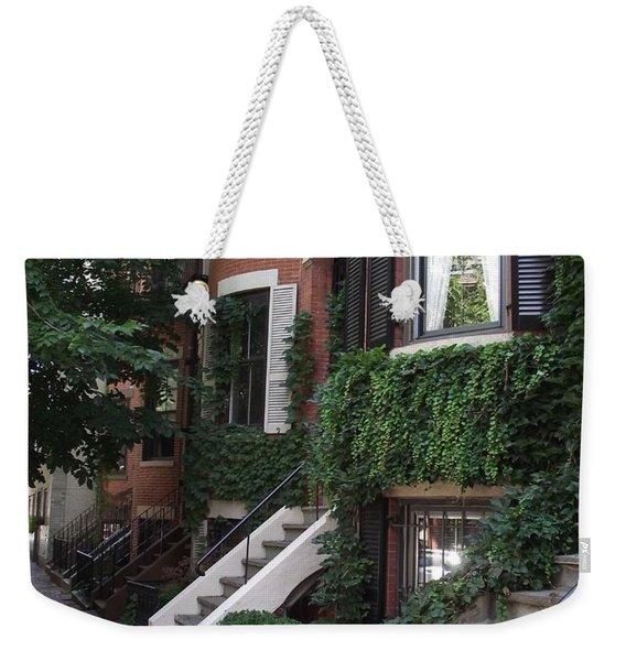 Ivy Walls Weekender Tote Bag