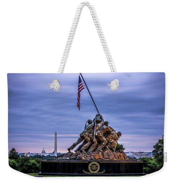 Iwo Jima Monument Weekender Tote Bag