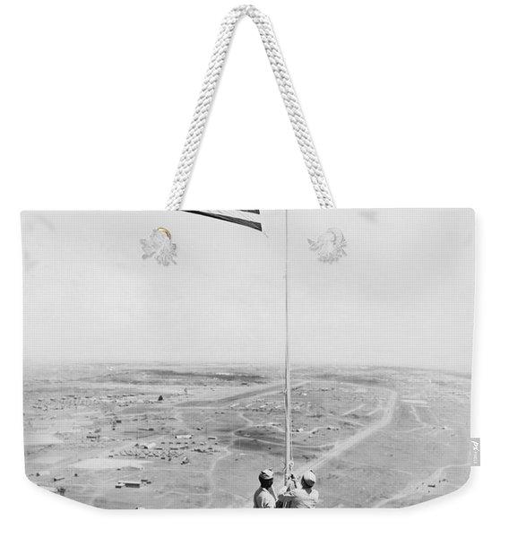 Iwo Jima Moument Weekender Tote Bag