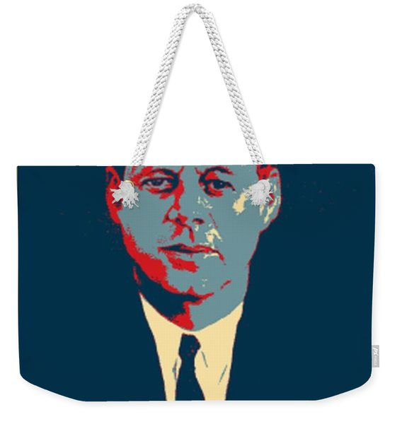 J F K In Hope Weekender Tote Bag