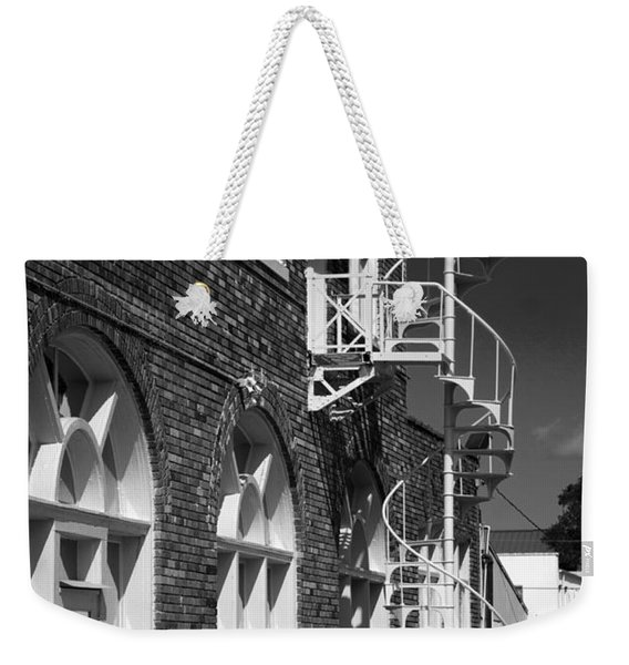 Jacaranda Hotel Fire Escape Weekender Tote Bag
