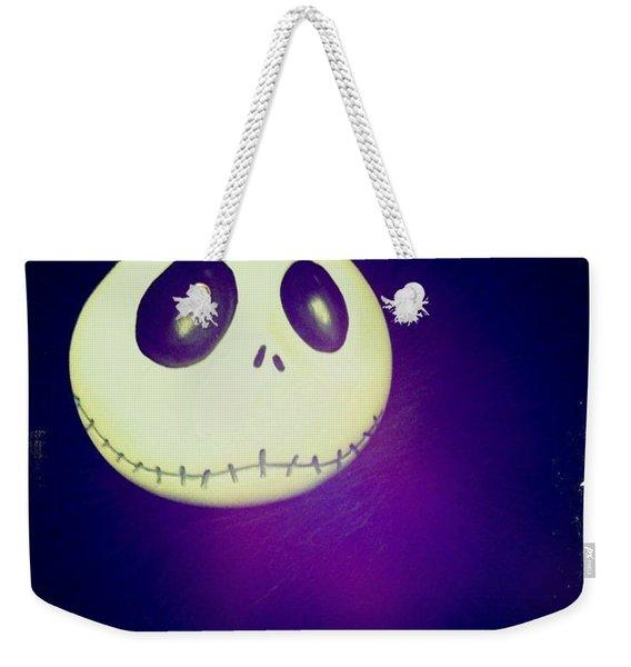 Jack Skellington Weekender Tote Bag