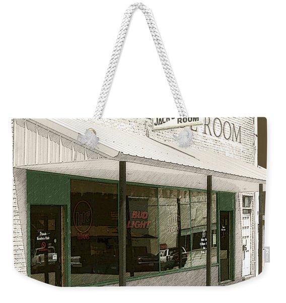 Jack's Pool Room Weekender Tote Bag