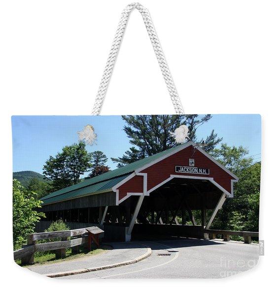 Jackson Covered Bridge Nh Weekender Tote Bag
