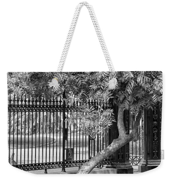 Jackson Square Bench And Tree Weekender Tote Bag