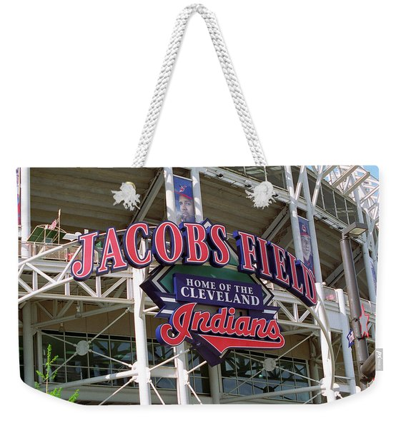 Jacobs Field - Cleveland Indians Weekender Tote Bag