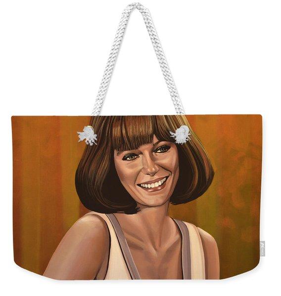 Jacqueline Bisset Painting Weekender Tote Bag