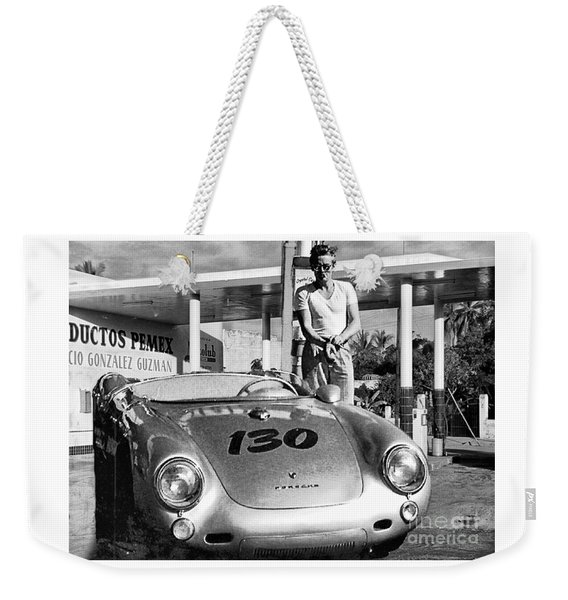 Last Picture Taken Of James Dean Weekender Tote Bag
