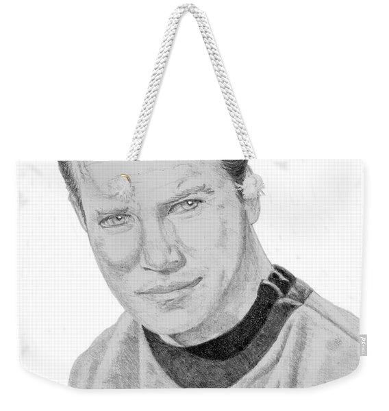 James Tiberius Kirk Weekender Tote Bag