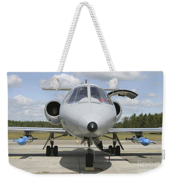 Jamming Pods On A Learjet, Hohn Air Weekender Tote Bag
