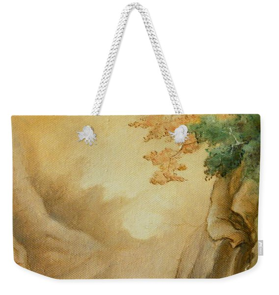 Japanese Autumn Weekender Tote Bag