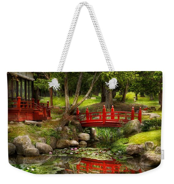 Japanese Garden - Meditation Weekender Tote Bag