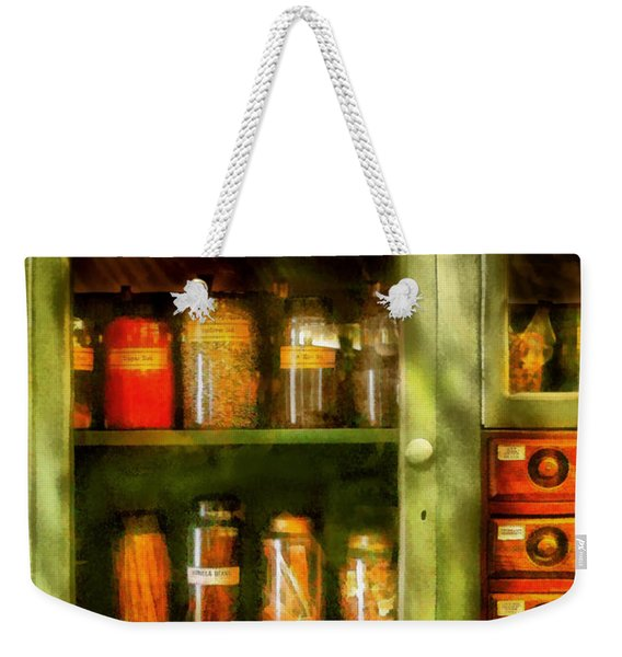 Jars - Ingredients II Weekender Tote Bag