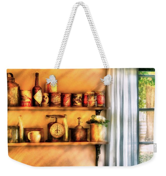 Jars - Kitchen Shelves Weekender Tote Bag