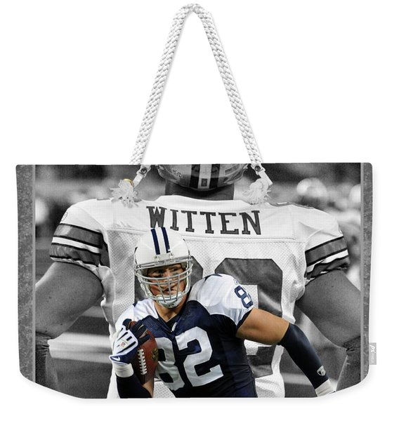 Jason Witten Cowboys Weekender Tote Bag