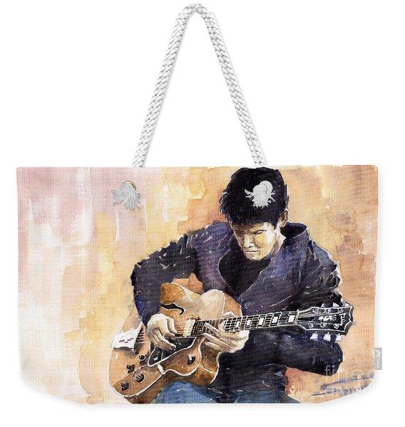 Jazz Rock John Mayer 02 Weekender Tote Bag