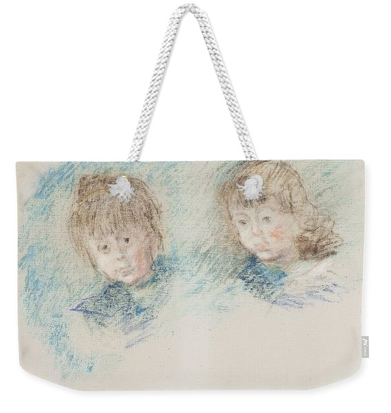 Jean-pierre Hoschede And Michel Monet Pastel Weekender Tote Bag
