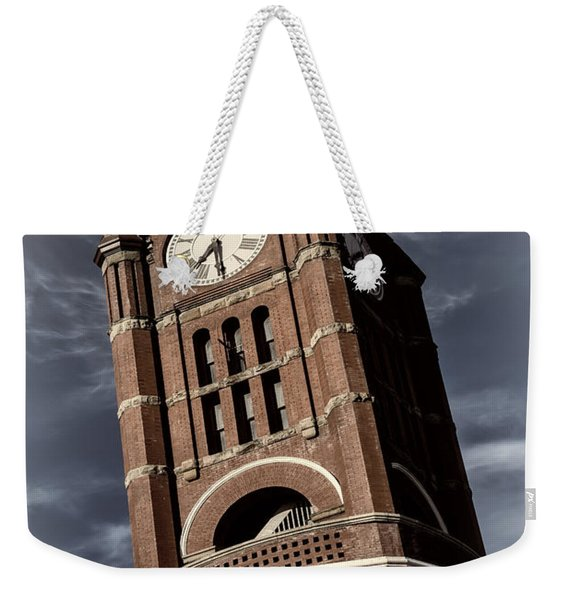 Jefferson County Courthouse Clock Tower Weekender Tote Bag