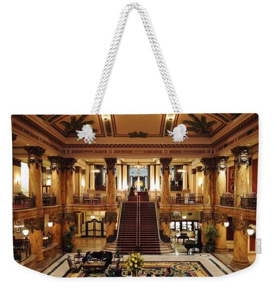 Jefferson Hotel Rotunda Weekender Tote Bag
