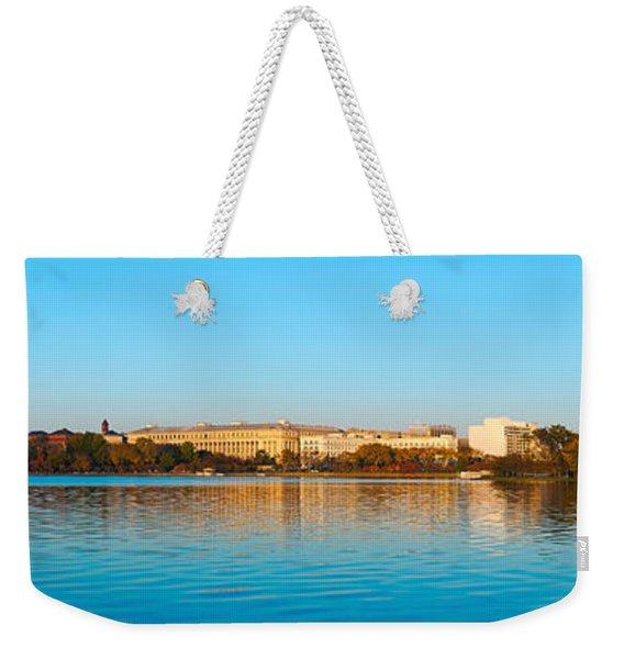 Jefferson Memorial And Washington Weekender Tote Bag