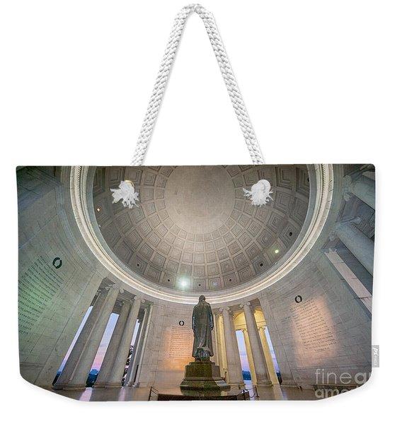Jefferson's Back Weekender Tote Bag