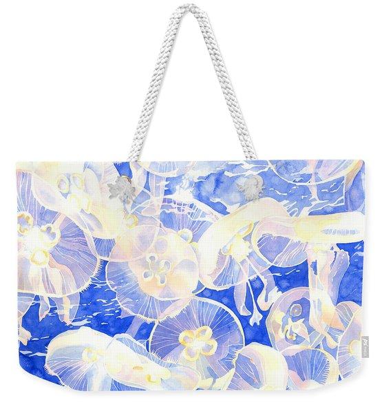 Jellyfish Jubilee Weekender Tote Bag