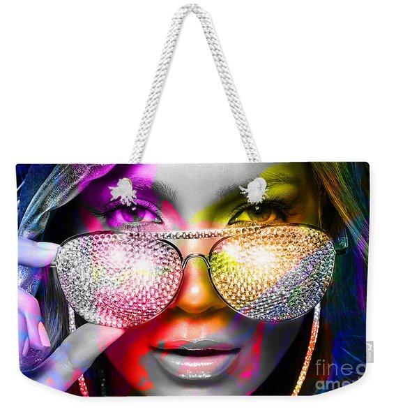 Jennifer Lopez  Weekender Tote Bag