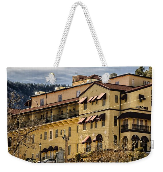 Jerome Grand Hotel No.18 Weekender Tote Bag