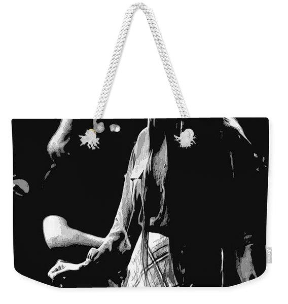 Jerry And Donna Godchaux 1978 A Weekender Tote Bag
