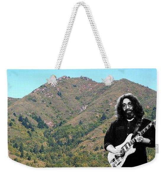 Jerry Garcia And Mount Tamalpais Weekender Tote Bag