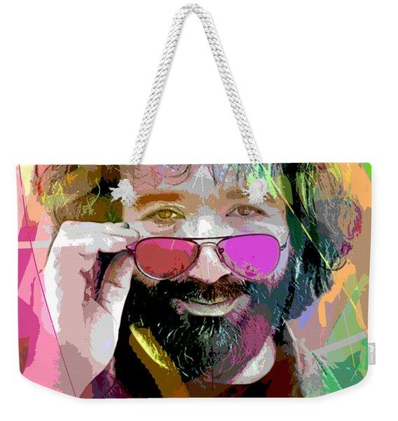 Jerry Garcia Art Weekender Tote Bag