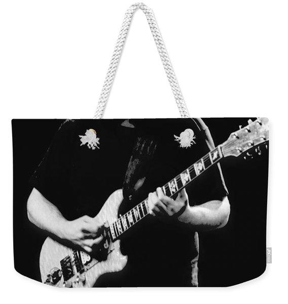 Jerry Garcia In Cheney 1978 Weekender Tote Bag