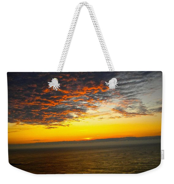 Jersey Morning Sky Weekender Tote Bag
