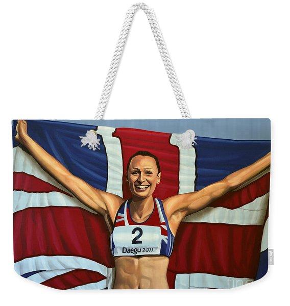 Jessica Ennis Weekender Tote Bag