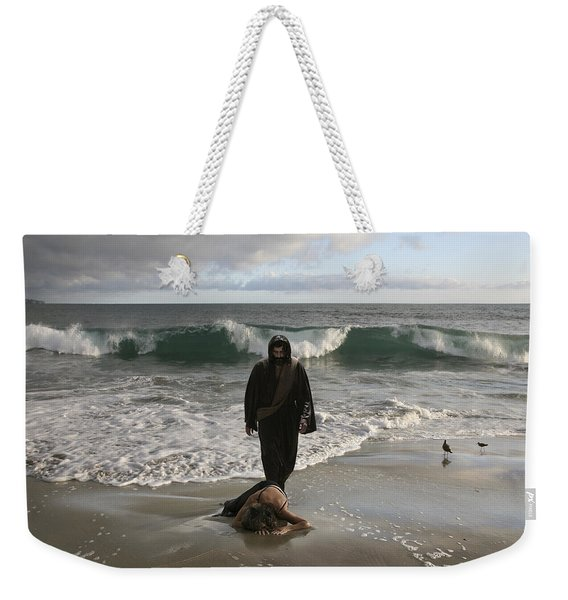 Jesus Christ- I Love You So Much Don't Cry I'm Here Weekender Tote Bag