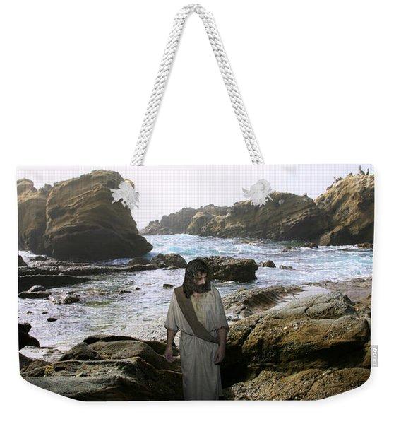 Jesus Christ- In The Company Of Angels Weekender Tote Bag