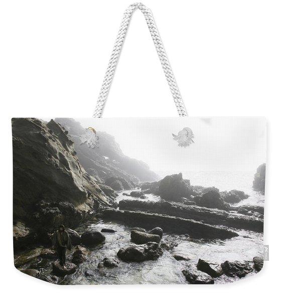 Jesus Christ- Walking Among Angel Mist Weekender Tote Bag