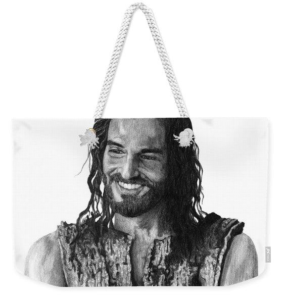 Jesus Smiling Weekender Tote Bag
