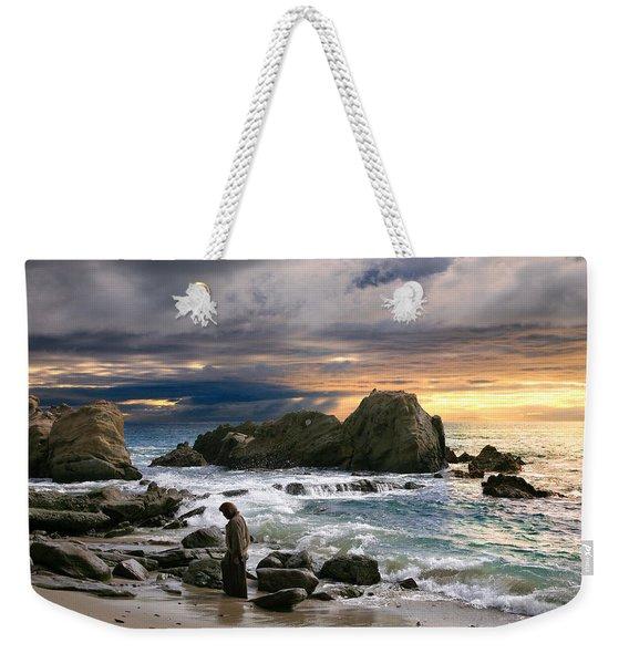 Jesus' Sunset Weekender Tote Bag
