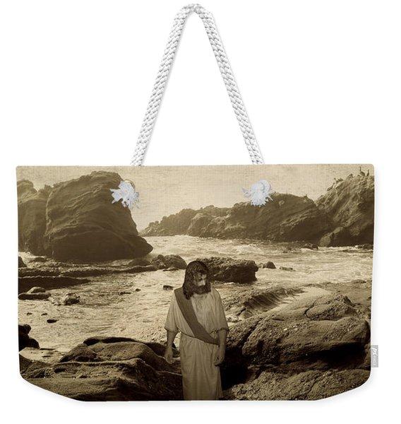 Jesus Walks Among Angels Weekender Tote Bag