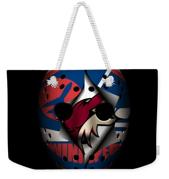 Jets Become Coyotes Weekender Tote Bag