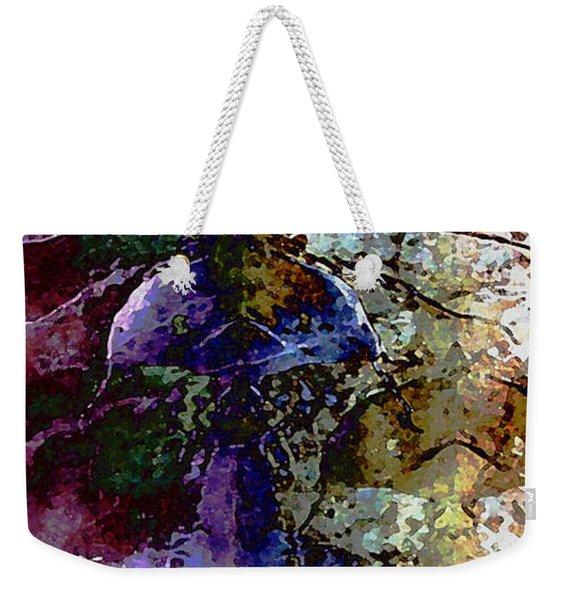 Jewel Tones Weekender Tote Bag