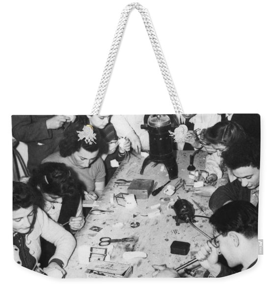 Jews Taking A Dentistry Course Weekender Tote Bag